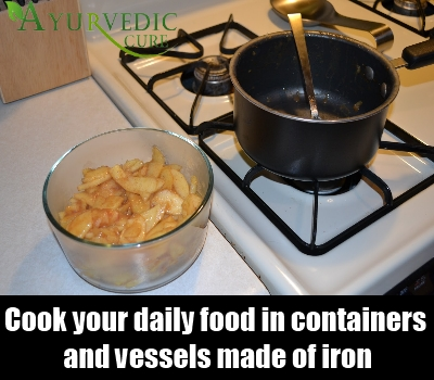 Cook Food In Iron Containers