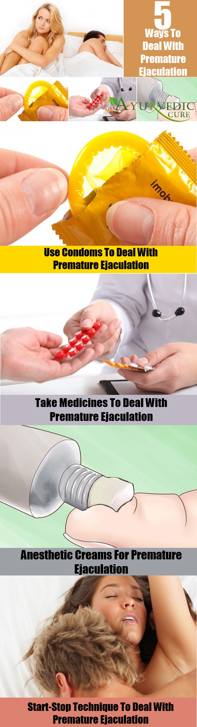 How To Deal With Premature Ejaculation