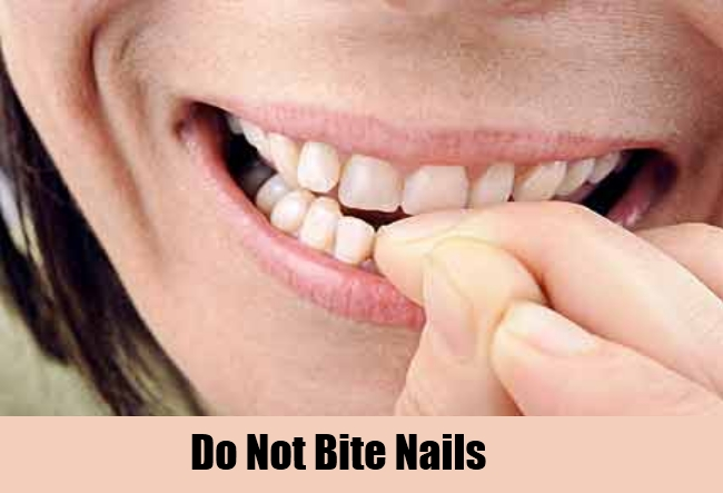 Do Not Bite Nails
