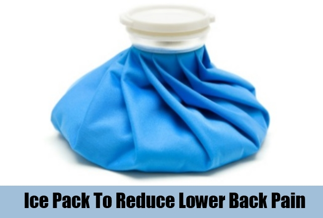 Ice Pack To Reduce Lower Back Pain