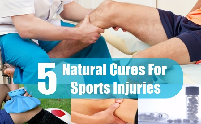 Natural Cures For Sports Injuries