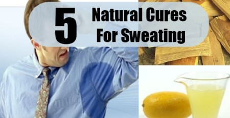 Natural Cures For Sweating