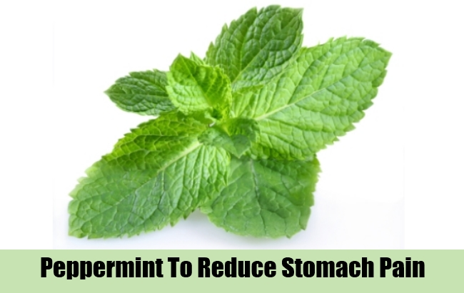 Peppermint To Reduce Stomach Pain