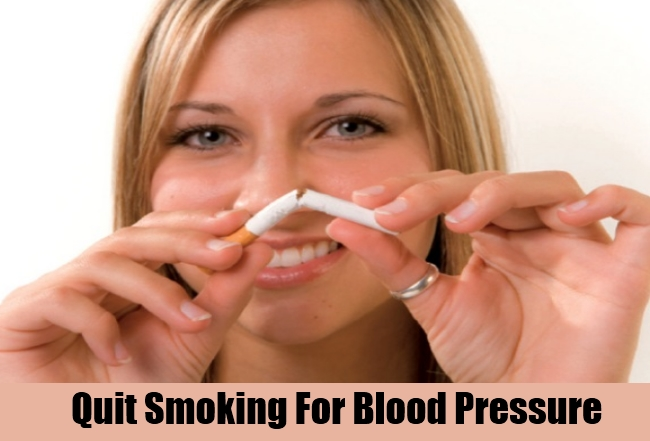 Quit Smoking For Blood Pressure
