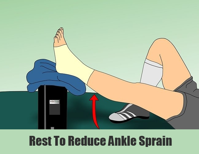 Rest To Reduce Ankle Sprain