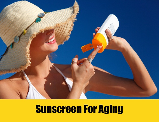 Sunscreen For Aging
