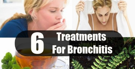 Treatments For Bronchitis