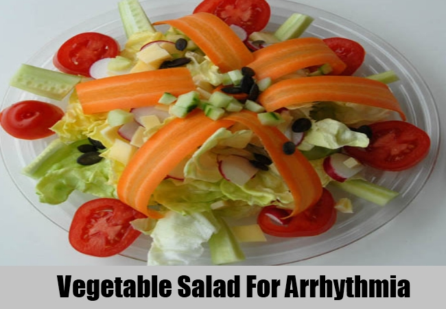 Vegetable Salad For Arrhythmia