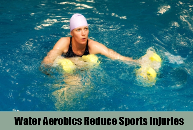 Water Aerobics Reduce Sports Injuries