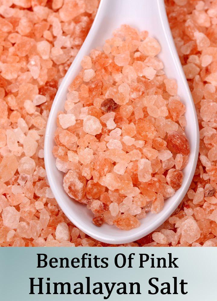 Amazing Benefits Of Pink Himalayan Salt