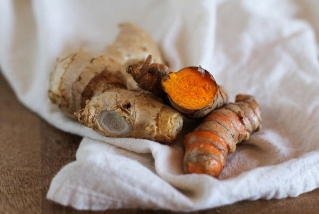 Use Turmeric And Ginger Root