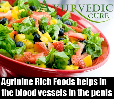 Foods that help increase penis size
