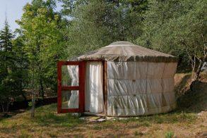 Eco-hébergement en yourte