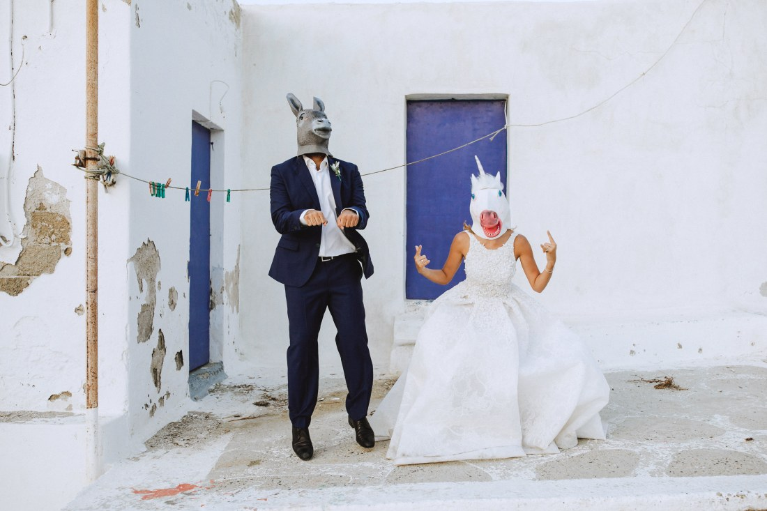 wedding filmmaker greek islands