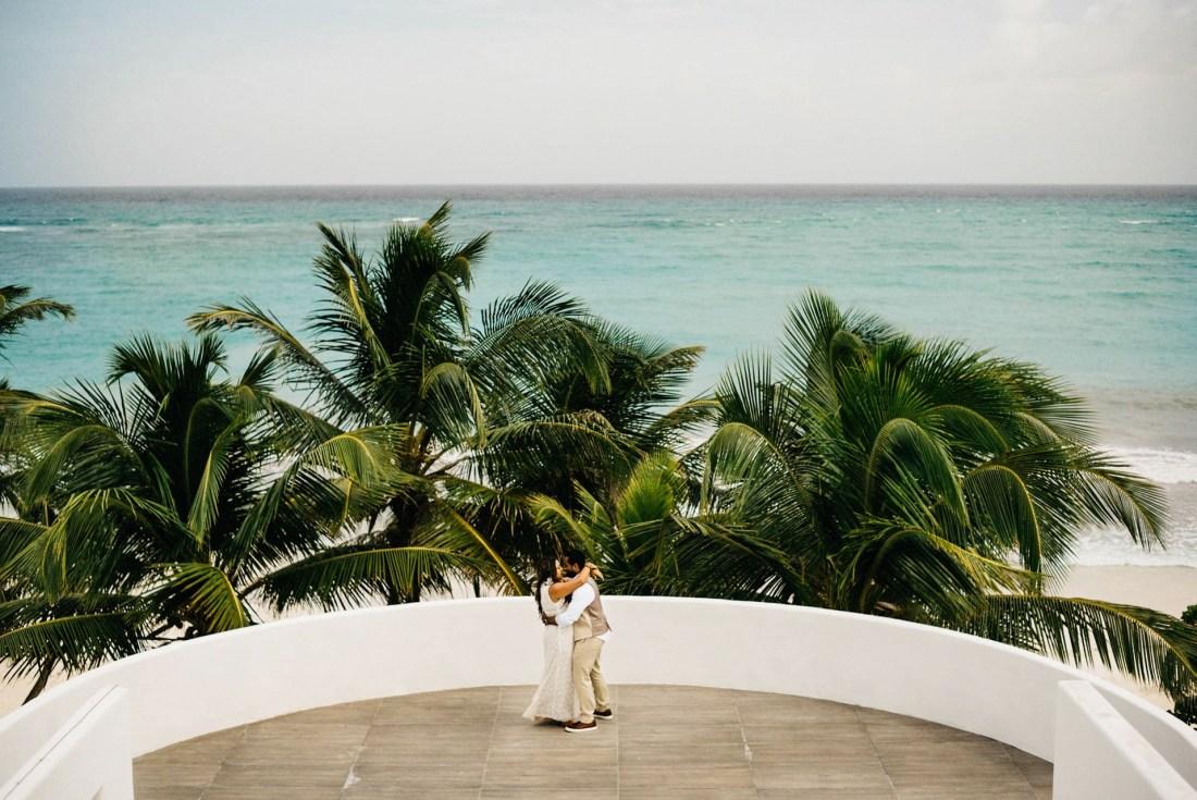 tulum mexico elopement filmmaker