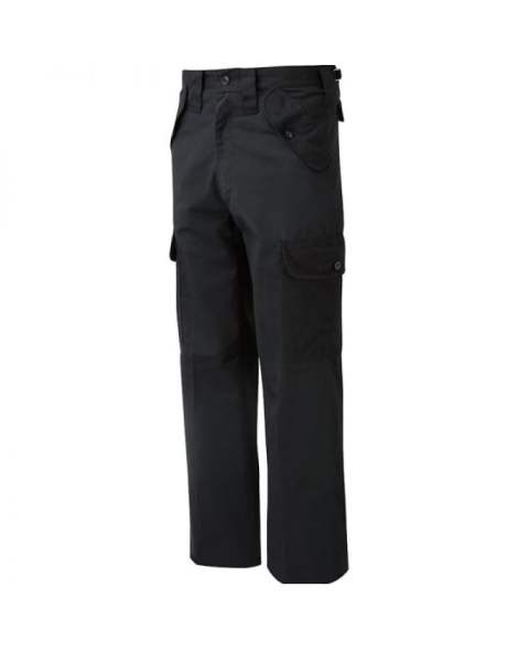 Get New Black Workwear Trousers for MEN
