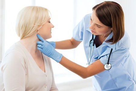 The cause of inflammation of lymph nodes