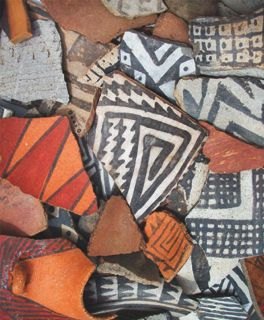 Northern Arizona Sherds. Photo used by permission of Christian Downum.