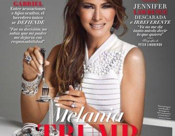 Melani Tramp meksika jurnalına poz verdi
