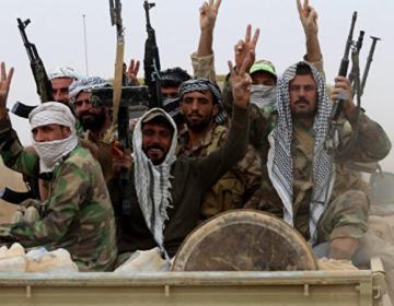 İraq ordusu Mosul hava limanına girdi