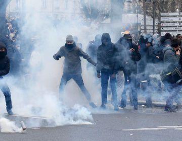 Parisdə ara qarışdı