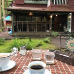 旧軽井沢Cafe 涼の音と元麻布の松方ハウス