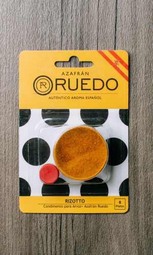 Rizotto Condimento para arroz + Azafrán Ruedo