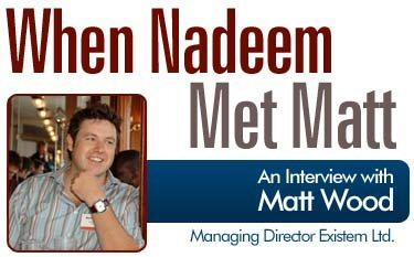 Part 1 of interview by Nadeem Azam