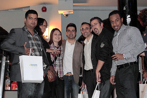 Everybody had fun on the evening and went home with a goodie bag!