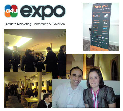 a4u expo London - pictures taken by Louise Goldstein of Azam Marketing. They show the cruise party and include Sinead and Nadeem in bottom right-hand corner