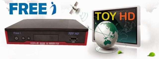 Atualização Freei toy HD v.1.103 - Julho 2017