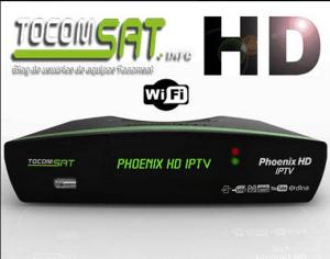 Tocomsat phoenix iptv atualização v.02.039 sks/iks - 17/06/2017