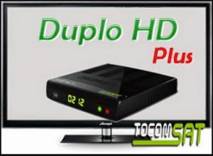 Atualização Tocomsat Duplo Plus v.2.55 - 11/07/2017