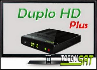 ATUALIZAÇÃO TOCOMSAT DUPLO HD PLUS V. 2.60 - 03 OUTUBRO 2017
