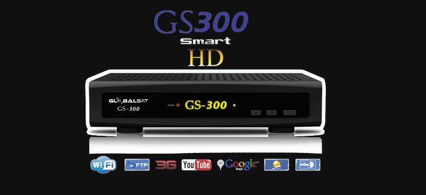GLOBALSAT GS300 ATUALIZAÇÃO V 4.06 - SKS 61_2 E 58w - 2017