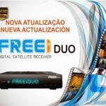 FREEI DUO HD NOVA ATUALIZAÇÃO V.4.12 - 20 JULHO 2017