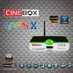 ATUALIZAÇÃO CINEBOX FANTASIA X 58W SKS ON - 19 JULHO 2017