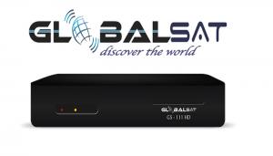 GLOBALSAT GS 111 / GS 111 PLUS HD ATUALIZAÇÃO V 4.06 - 02/03/2017