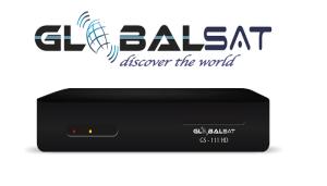 Atualização Globalsat Gs 111 hd/ 111 plus - Doze/07/2017