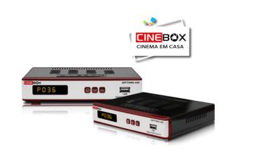 BAIXAR ATUALIZAÇÃO CINEBOX OPTIMO HD - 26/03/2018