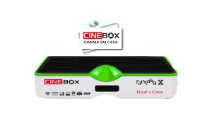 Atualização Cinebox fantasia x - 87w e iks - 04 julho 2017