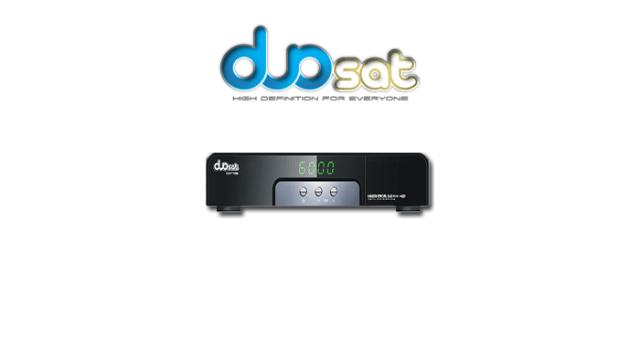 Atualização Duosat One SD v.4.58 - 14 julho 2017