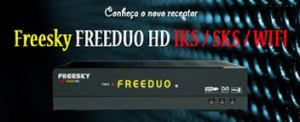 Nova atualização Freesky Freeduo Hd v.4.11 - 14 Julho 2017