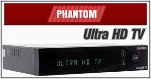 ATUALIZAÇÃO PHANTOM ULTRA HD TV V.9.07.01.S33 - AGOSTO 2017