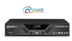 Baixar atualização do receptor Alphasat Chroma - 30 Julho 2017