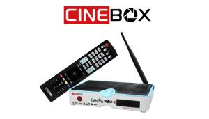 ATUALIZAÇÃO CINEBOX FANTASIA MAXX 2 - 2018