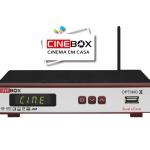 CINEBOX OPTIMO X ATUALIZAÇÃO - 2018