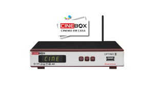 CINEBOX OPTIMO X ATUALIZAÇÃO SKS58W - AGOSTO 2017