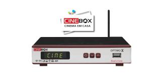 ATUALIZAÇÃO CINEBOX OPTIMO X - 14/02/2018