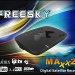 FREESKY MAXX 2 NOVA ATUALIZAÇÃO V.1.20 - DEZEMBRO 2017